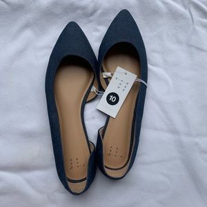 A New Day Denim Flats